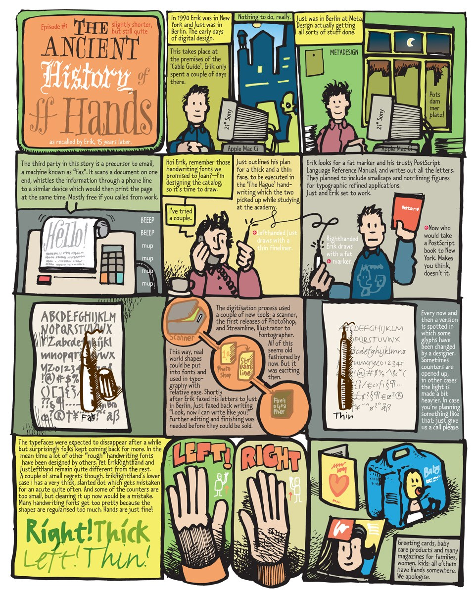 The illustrated history of FF Hands